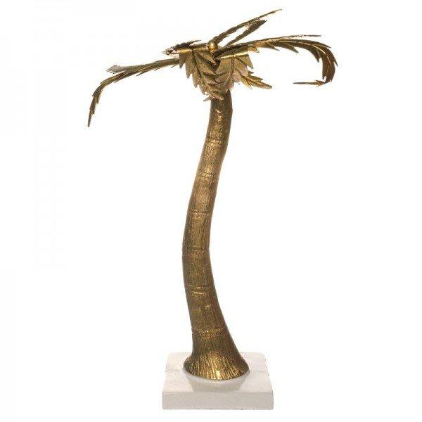 coqueiro decorativo dourado 21cm x 16cm x 34cm 20877653 1 20190311154703