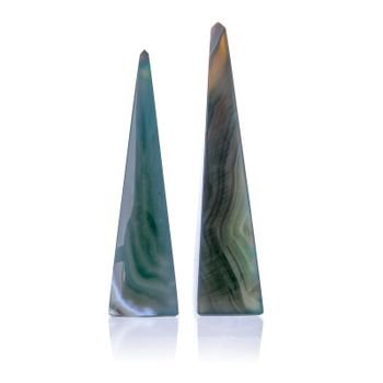 par de obeliscos em pedra agata verde 20878225 1 20190415150527