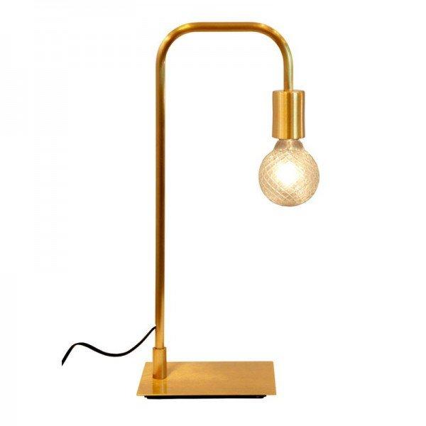 luminaria de mesa simple aluminio dourado escovado s lampada 20878063 1 20190326145300