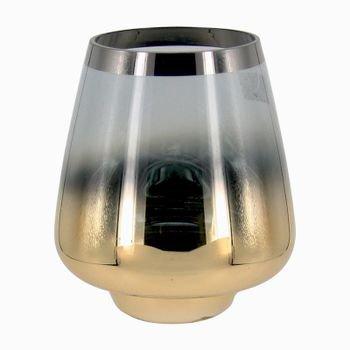 vaso de vidro degrade dourado e prata g 20876973 1 20181210150820