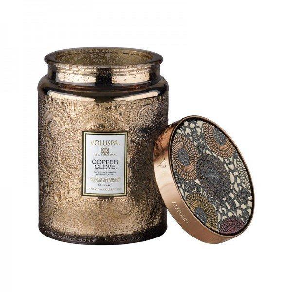 vela voluspa pote vidro g 100h relevo copper clove 20878265 1 20190418183824
