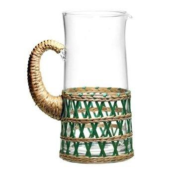 jarra de vidro e rattan verde 12cm x 24 5cm 2160ml 20877319 1 20190208132629