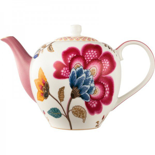 bule porcelana branco e rosa floral fantasy 20877587 1 20190125165249