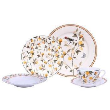 aparelho de jantar em porcelana 30 pecas blossom lemon 20877091 1 20181210150853