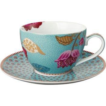 xicara de cha porcelana azul floral fantasy 20877581 1 20190125170044