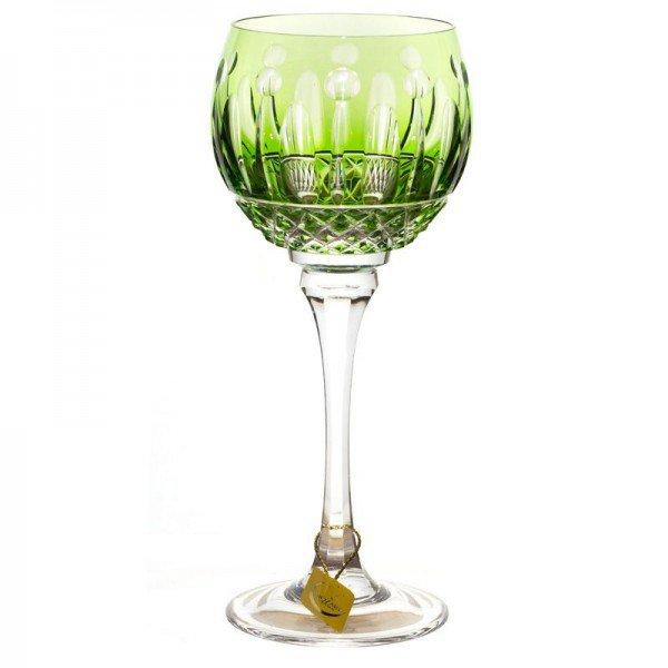 taca de cristal lapidada verde giovanni 24 pbo p vinho 20878255 1 20190417155637