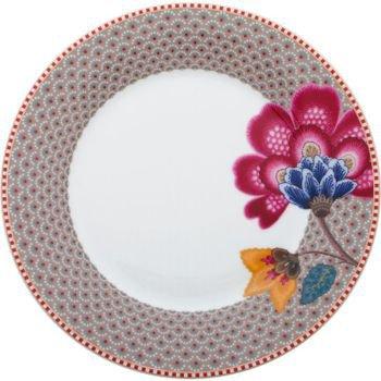 prato de sobremesa porcelana caqui floral fantasy pip studio 20877583 1 20190125162438