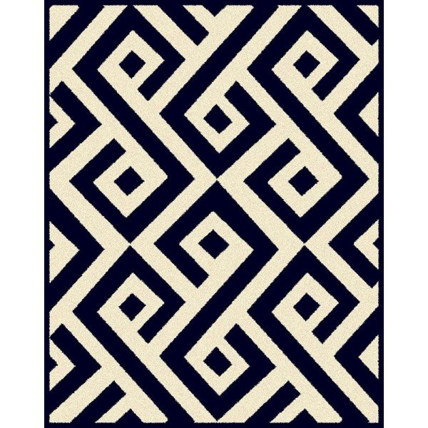 tapete egipcio lotto c estampa geometrica azul marinho 2 00 x 2 85 20877545 1 20190108154530
