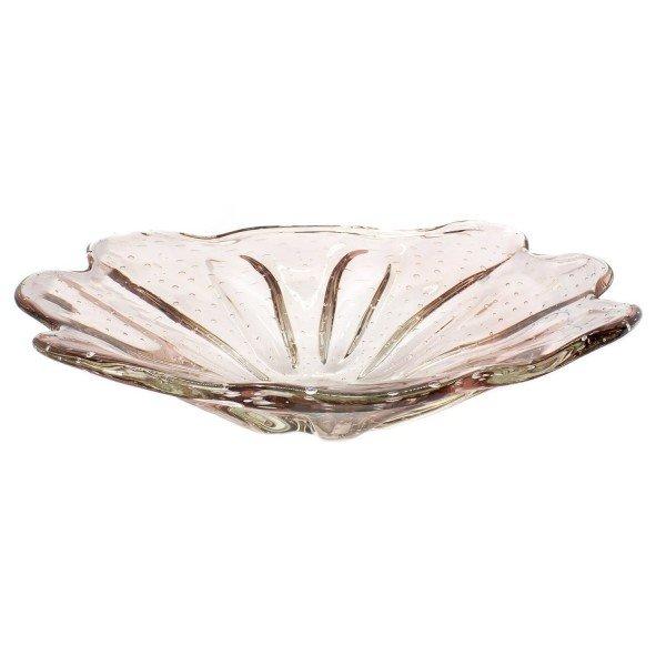 vaso de cristal murano centro de mesa evora cor new rubi 20876777 2 20181210150753