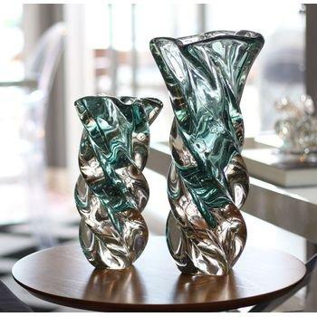 par de esculturas em cristal murano cor azul petroleo 20875413 2 20181210150732