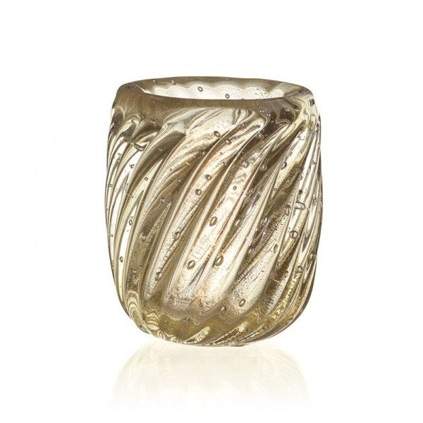 vaso de cristal murano novara cristal c ouro 20877791 2 20190226164455