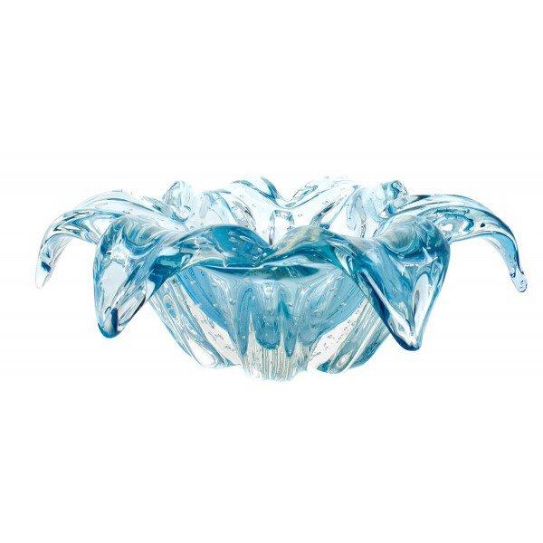 centro de mesa em cristal murano lothus p azul petroleo 20876336 1 20181210150749