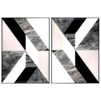 tela abstrata geometrica com moldura em aluminio 50 x 70 20876550 1 20181210150838