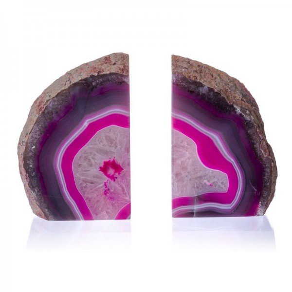 suporte aparador de livro em pedra agata rosa 20878217 1 20190415162952
