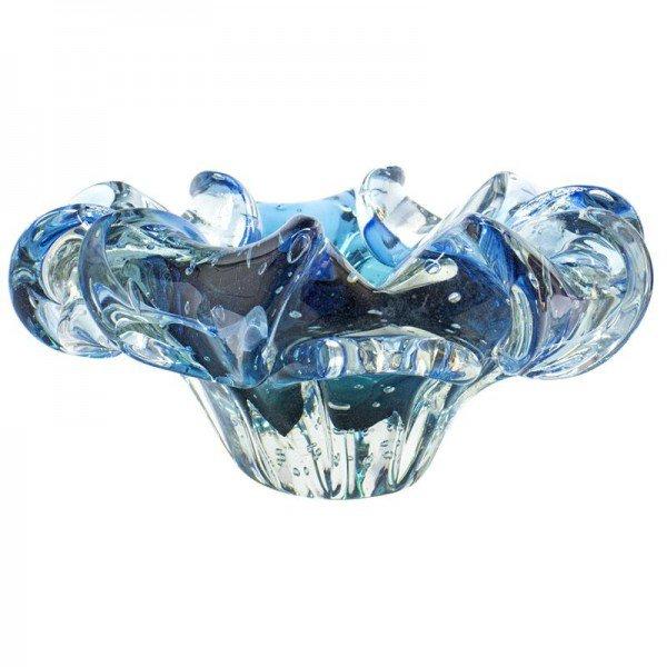 centro de mesa em cristal murano gandesh p cor aquamarine azul 20875634 1 20190117153204