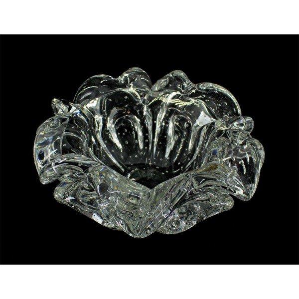 centro de mesa em cristal murano escamas transparente di murano 20876400 1 20181214175559