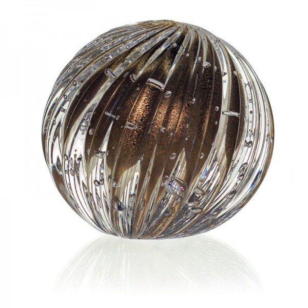 esfera cristal murano atys cor onix c ouro 20877767 1 20190227172339