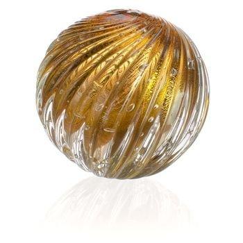 esfera cristal murano atys cor garnet c ouro 20877815 1 20190308140408