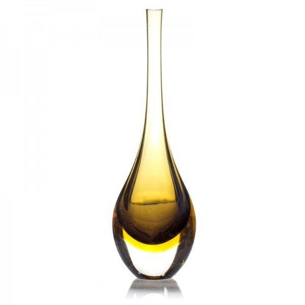 gota em cristal de murano bicolor ambar com fume 20877633 1 20190131174429