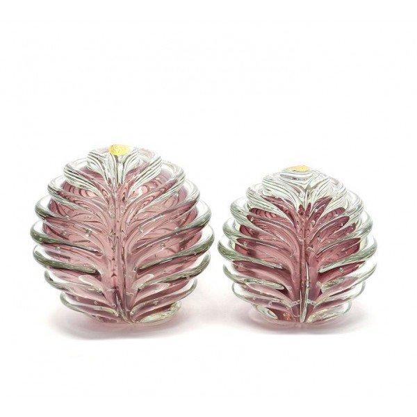 par de esfera em cristal murano alentejo p m new rubi 20875590 1 20181210150722