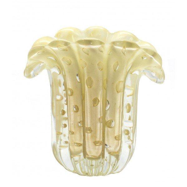mini vaso em cristal murano leque caramelo c ouro 20876158 1 20181210150705