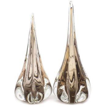 par de gotas em cristal de murano fenix m g garnet 20875874 1 20181210150733