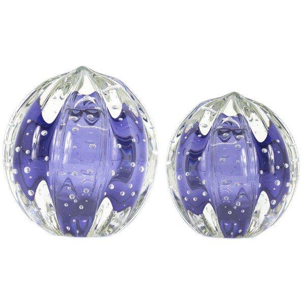 par de esferas em cristal murano senna p m cor turmalina roxo 20876344 1 20181210150724