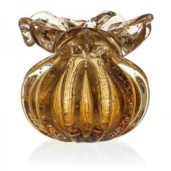 vaso cristal murano trouxinha ferrara garnet c ouro 20877783 1 20190227172226