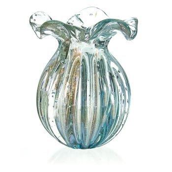 vaso cristal murano trouxinha ravena cor azul petroleo c ouro 20877723 1 20190215175620