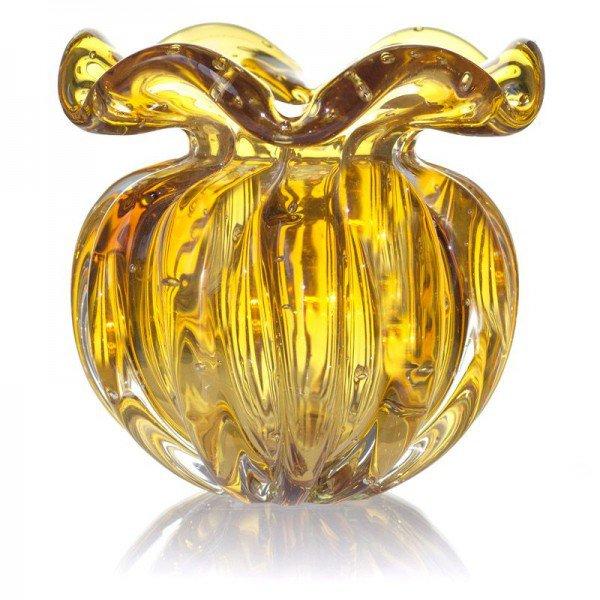 vaso de cristal murano trouxinha torcello pp ambar 20289674 1 20190206135044