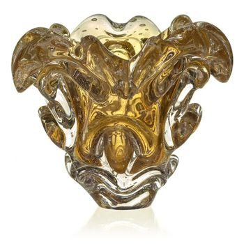 vaso de cristal murano sotis cor garnet c ouro 20877773 1 20190226181422