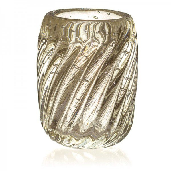 vaso de cristal murano novara cristal c ouro 20877791 1 20190226164455
