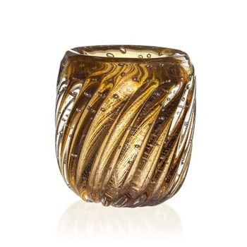 vaso de cristal murano novara garnet c ouro 20877793 variacao 155 1 20190226181316