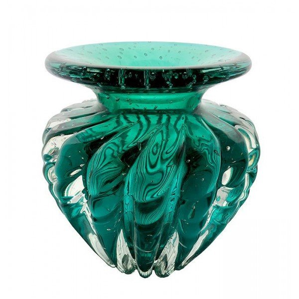 vaso em murano praga cor verde esmeralda 20877165 1 20181210150713