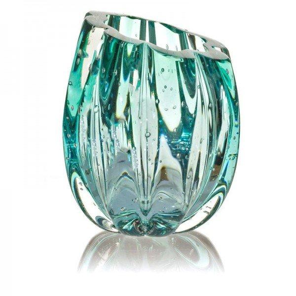 vaso em cristal murano marselha g cor esmeralda 20875648 1 20190207160420