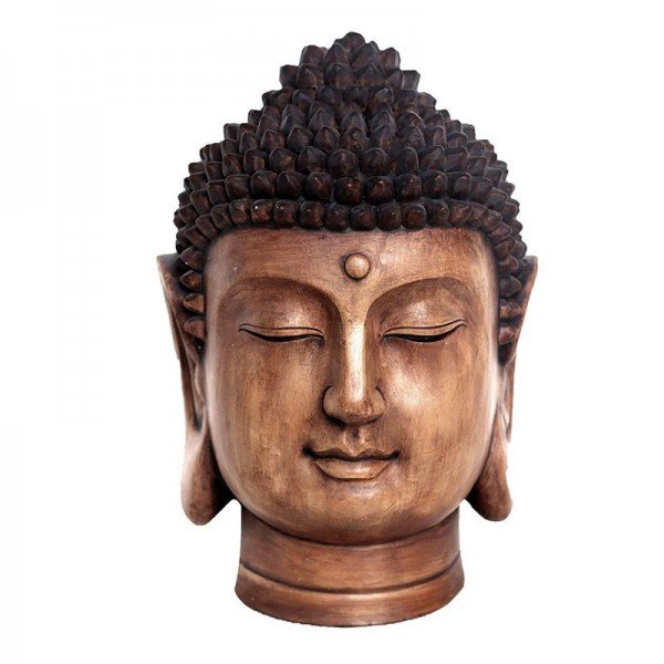 buddha decorativo em resina marrom 20878093 1 20190329113933
