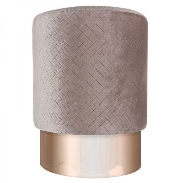 banqueta puff em veludo fendi com metal rose gold 20878345 1 20190427180444