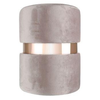 banqueta puff em veludo fendi com metal rose gold 20878331 1 20190427180701