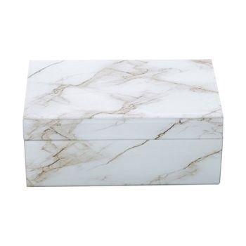 caixa decorativa vidro marmore marrom e branco 20878035 1 20190322155547