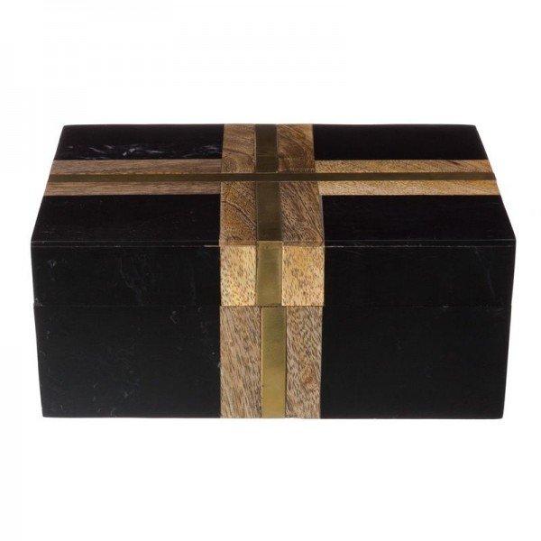 caixa decorativa marmore preto com dourado 20878163 1 20190405165238
