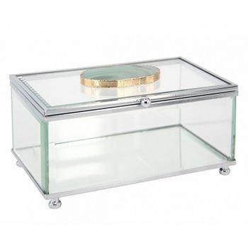 caixa decorativa de vidro pedra agata verde 20875904 1 20181210150826