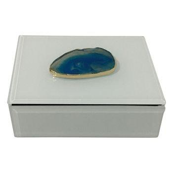 caixa decorativa c pedra agata azul 20875902 1 20181210150826