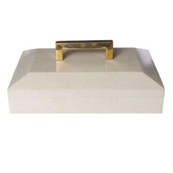caixa decorativa branca puxador metal dourado 20878135 1 20190405170828