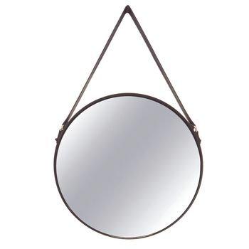 espelho redondo em metal preto com alca cinta para fixacao 20877129 1 20181210150835