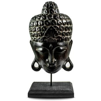 escultura budda madeira marrom 20877671 1 20190211162207