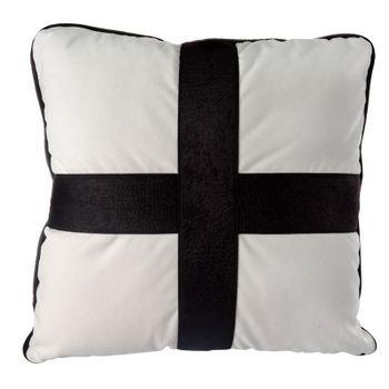almofada em veludo branco c aplique couro preto mod01 20878449 1 20190515144530