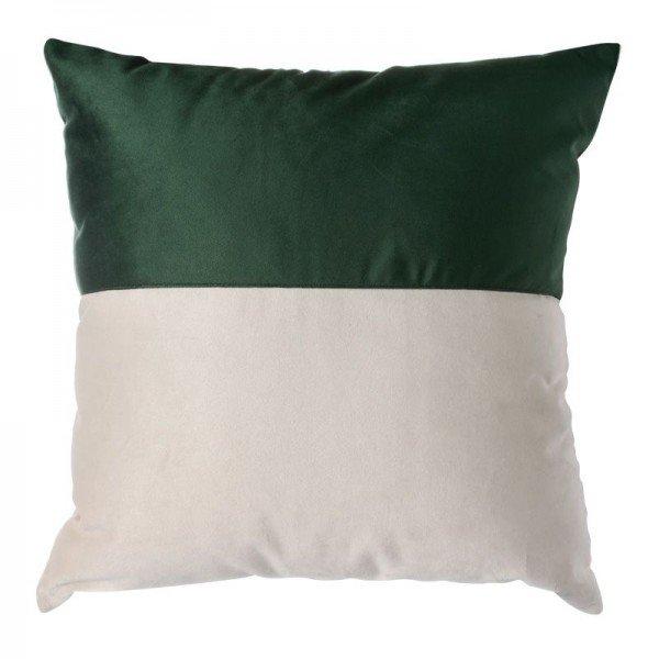 almofada em veludo verde e branco c emenda mod02 20878445 1 20190515144754