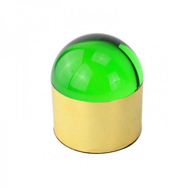 caixa decorativa metal dourado e cristal verde 20878837 1 20190627152000