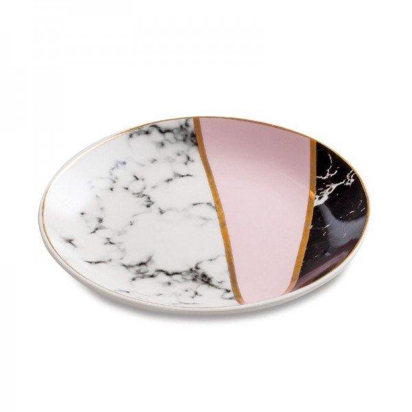 mini prato redondo p joias em ceramica marmore preto branco rosa 20878531 1 20190520164620