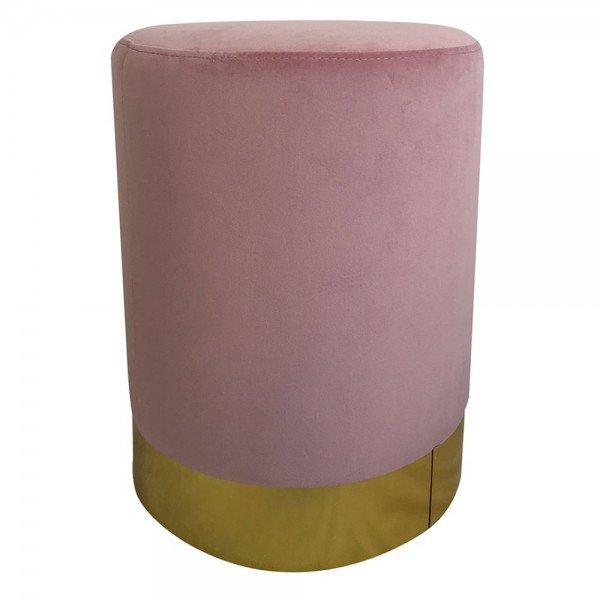 banqueta puff em veludo rosa 20876703 1 20181210150850